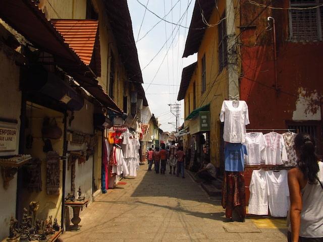 Rua Judaíca Fort Cochim