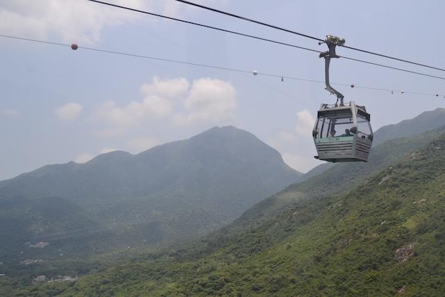 Vista cable car 360