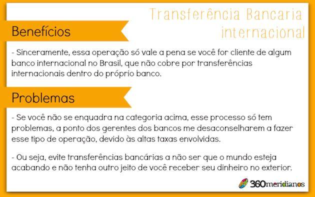 Como Transferir Dinheiro Para O Exterior 360meridianos