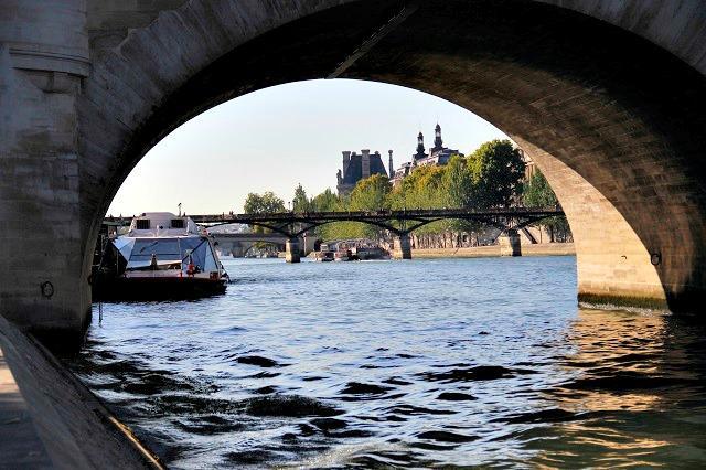 As pontes de Paris, França
