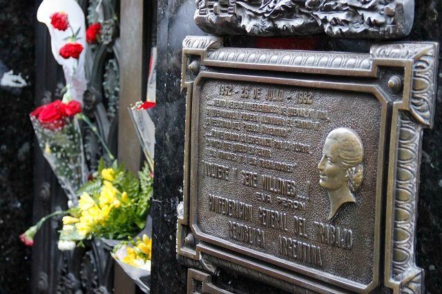 Túmulo da Evita Péron, Buenos Aires