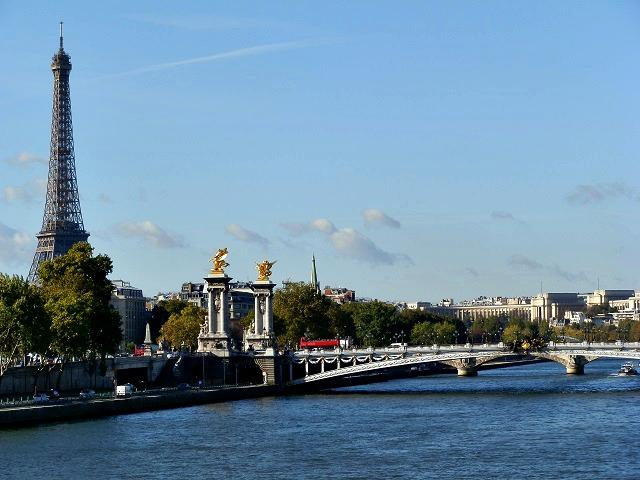 As pontes de Paris, França