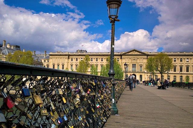Pontes das Artes, Paris