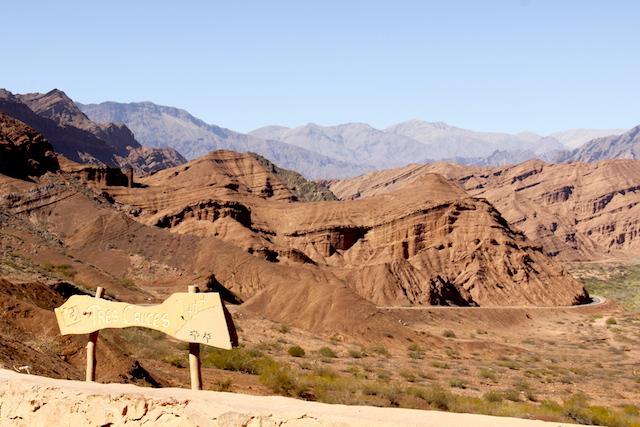Tres cruces - Quebrada das Conchas Argentina