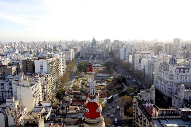 O que fazer em Buenos Aires: vista do Palácio Barolo