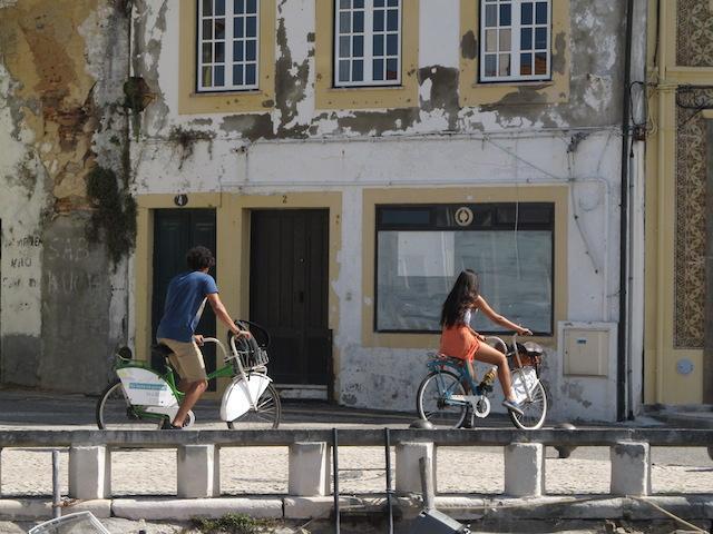 bicicleta aveiro portugal