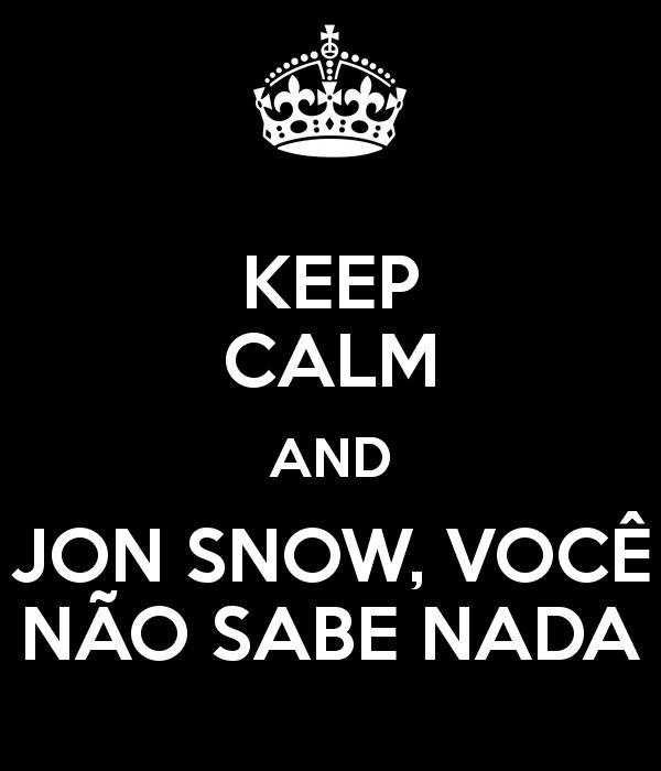 Meme Jonh Snow