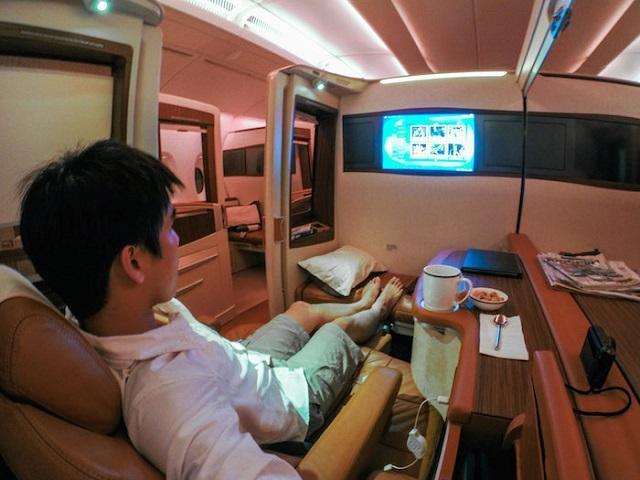 Voar na Singapore Airlines