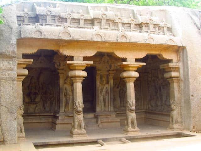 Arjuna's penance Mamallapuram
