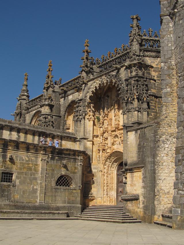 Entrada Convento de Cristo