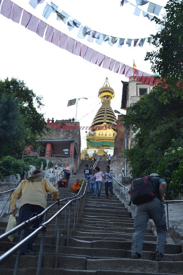 Escada Swayambhunath