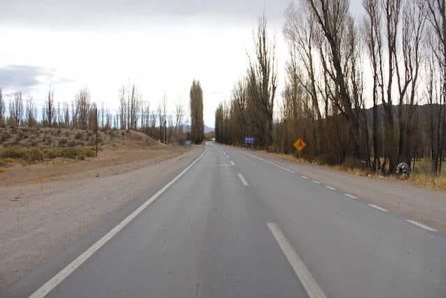 Estrada Argentina - Viajar de ônibus