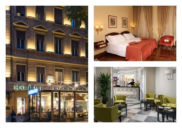 Hotéis que falam português em Roma