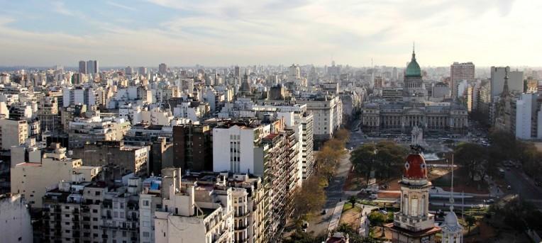 Três mirantes no centro de Buenos Aires
