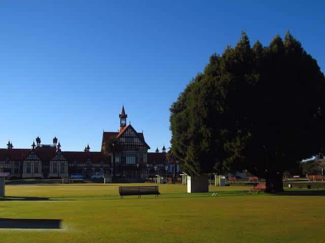 Rotorua Cidade Nova Zelândia