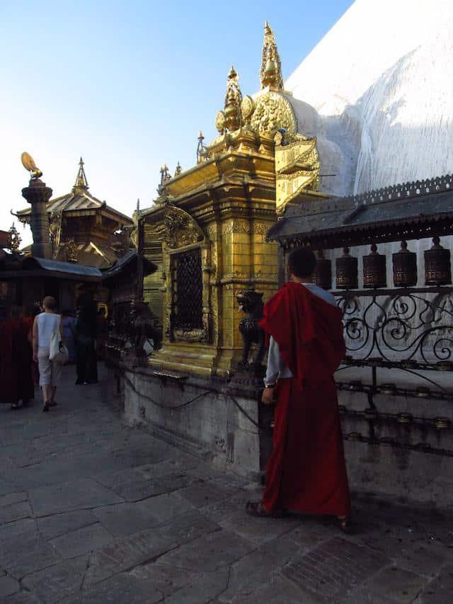 Swayambhunath monge budist