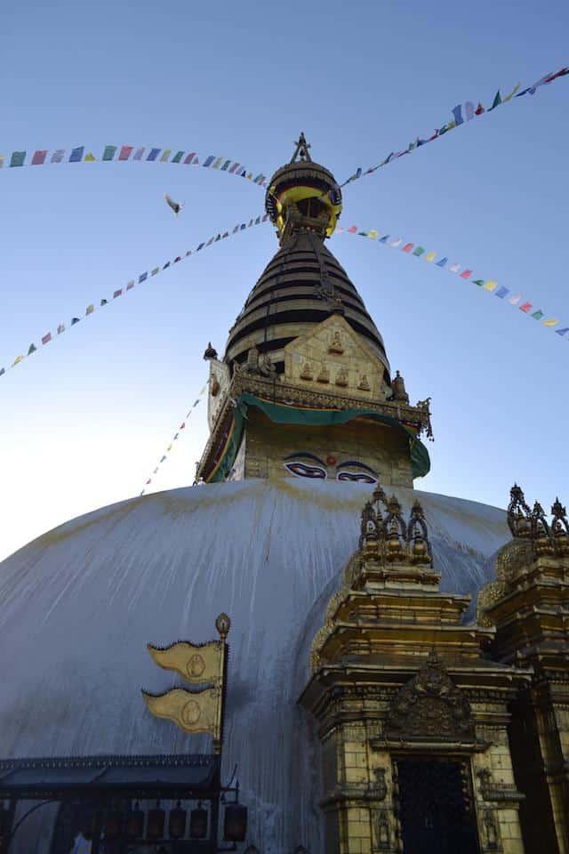 Swayambhunath olho