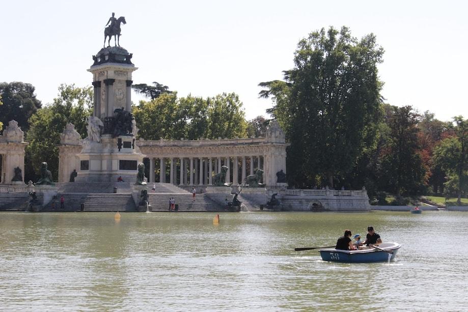 O que fazer em Madrid: Parque do Retiro