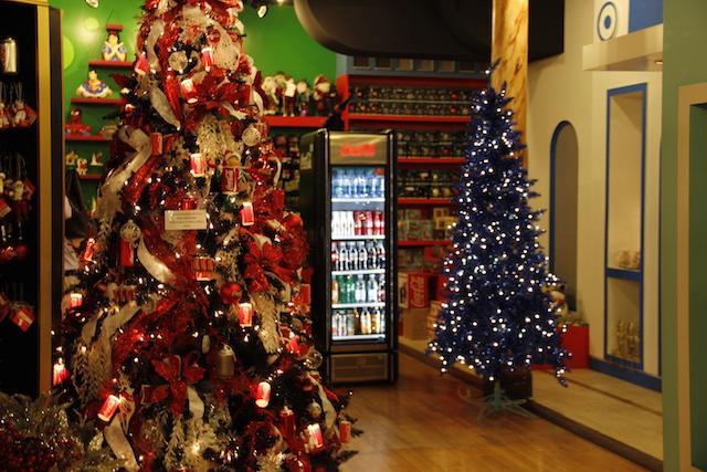 Árvores de natal - Loja em Nove York