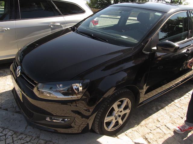 Carro alugado portugal