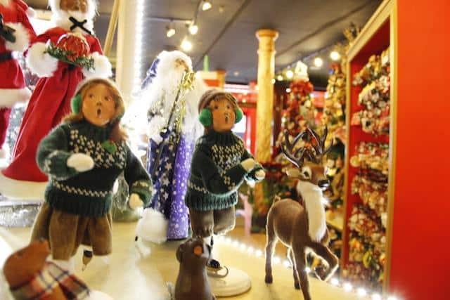Decoração natalina - Loja em nova York