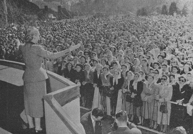 Discurso de Evita Perón