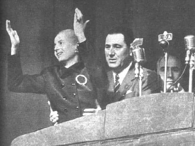 Eva e Perón