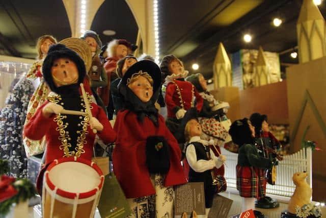 Loja de Natal o ano inteiro Nova York