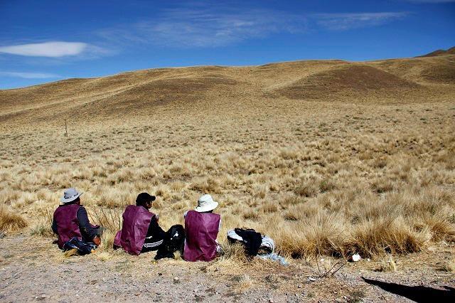 Peregrinos em Salta
