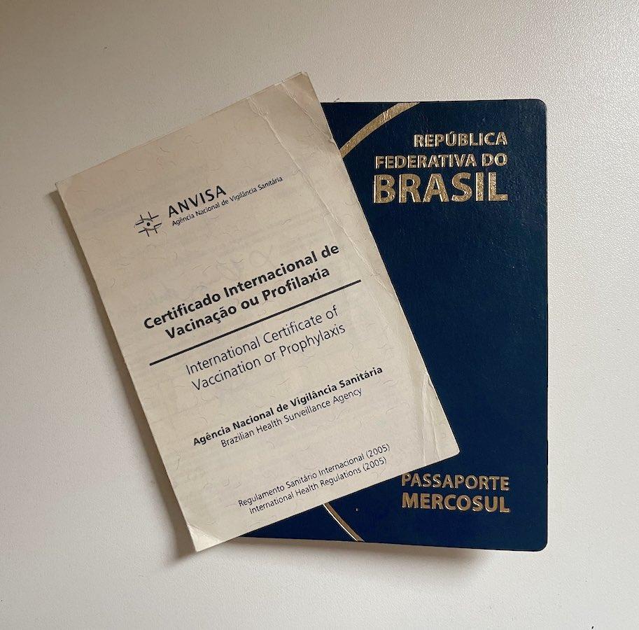 certificado internacional de vacinacao civp