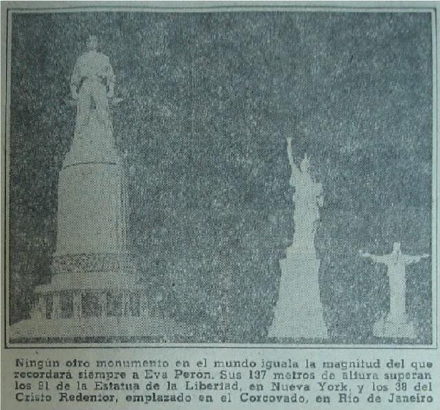 monumento para Evita