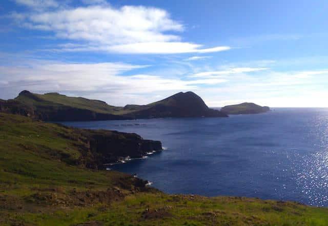 ponta sao lourenco ilha