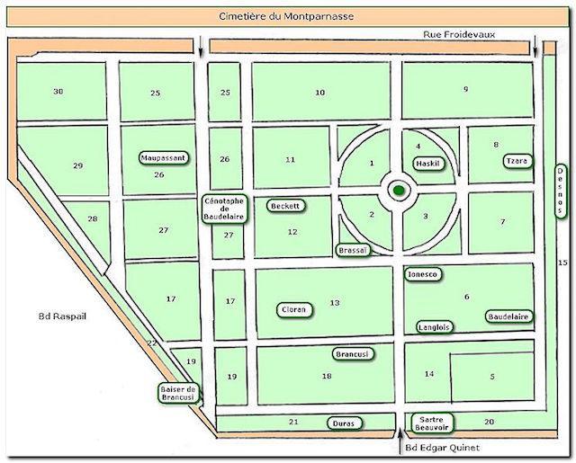 Mapa Cimetière_du_Montparnasse