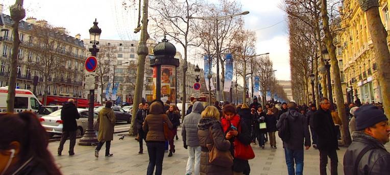 Dica de apartamento em Paris, na Champs-Elysées