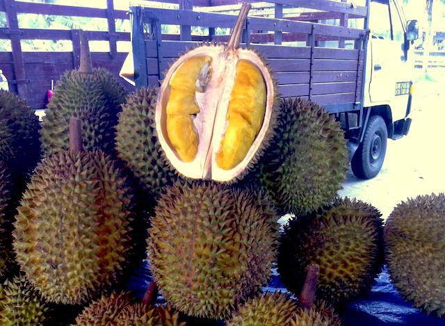 Durian - fruta em Kuala Lumpur