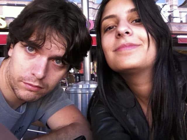 Rafa e Naty em Madrid