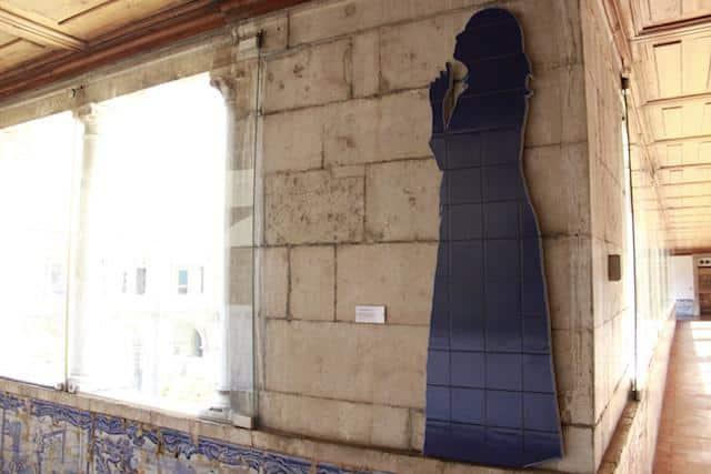 Menina - Museu Nacional do Azulejo