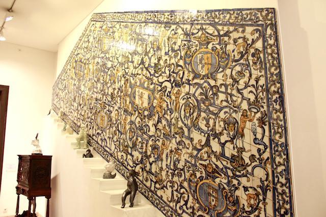 Painel de Azulejo - Museu Nacional