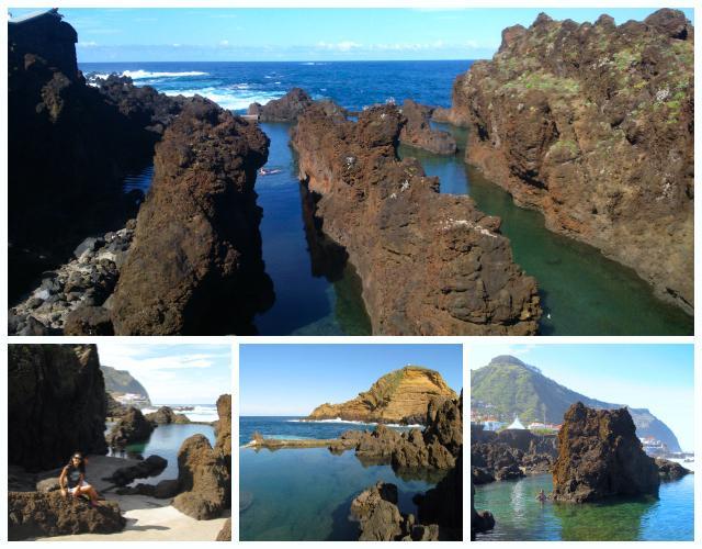 Porto moniz ilha da madeira