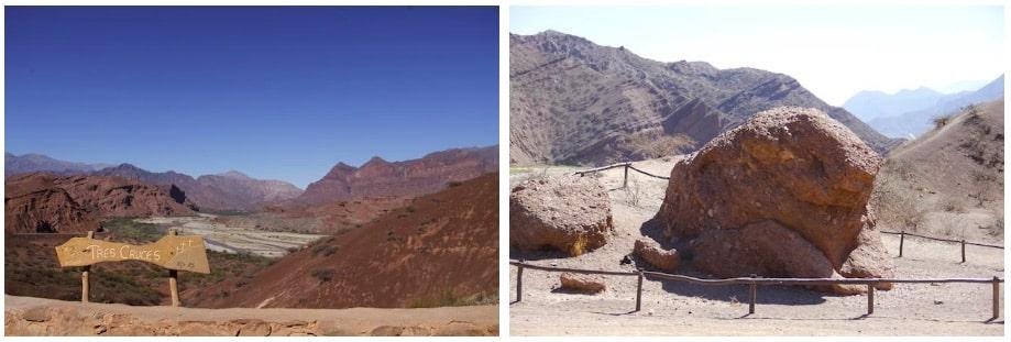 Cafayate e a Quebrada das Conchas - Tres Cruces e Sapo
