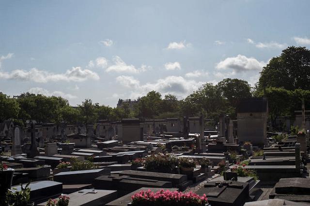 cimetière du Montparnasse christophe noel