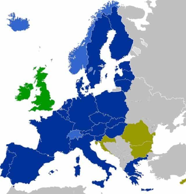 Onde será minha imigração na Europa