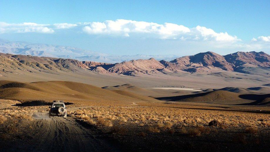 Roteiros pela América do Sul: Andes