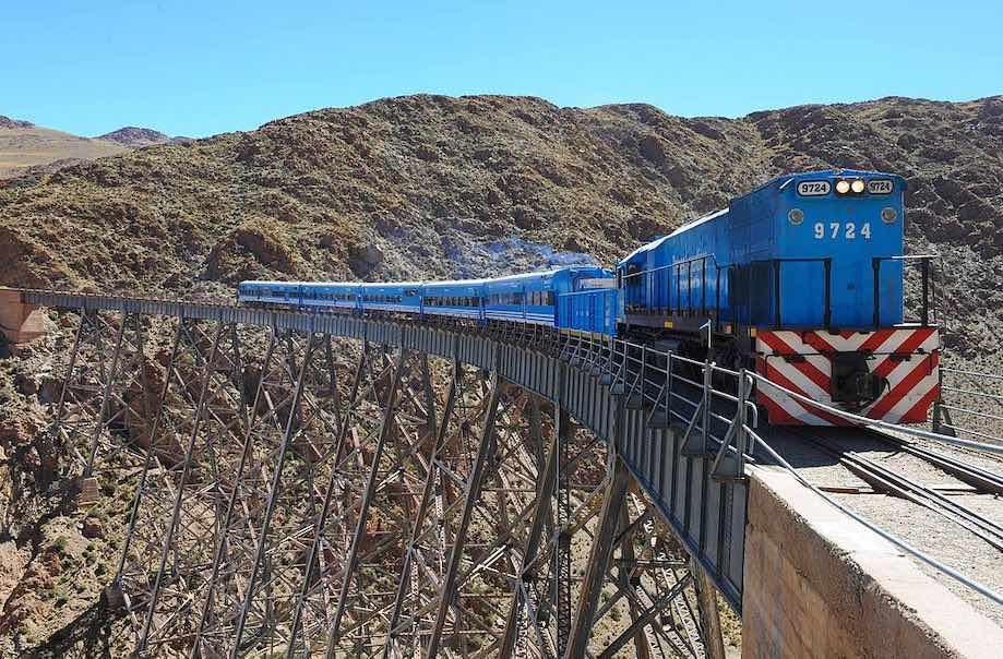 Trem das nuvens - Salta, Argentina