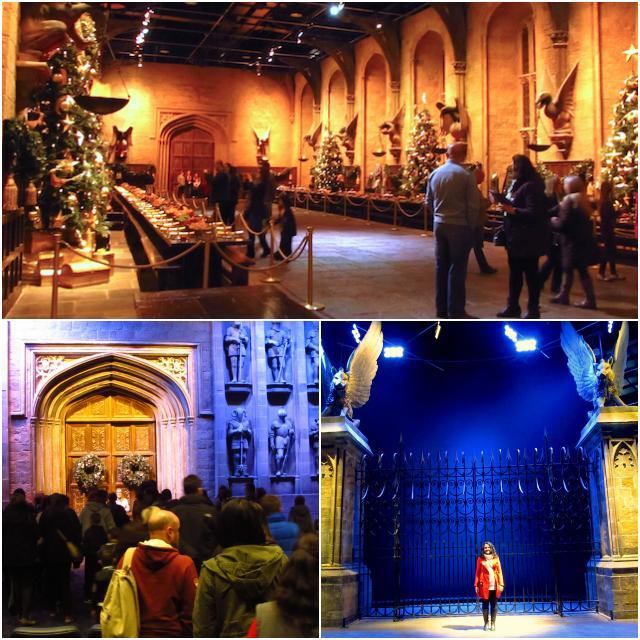 Entrada e Salão Principal Hogwarts