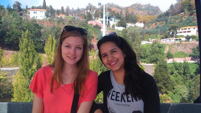 Luiza e Anna Teleférico Monte