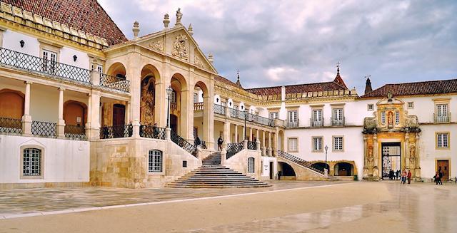 Paço das Escolas Universidade de Coimbra