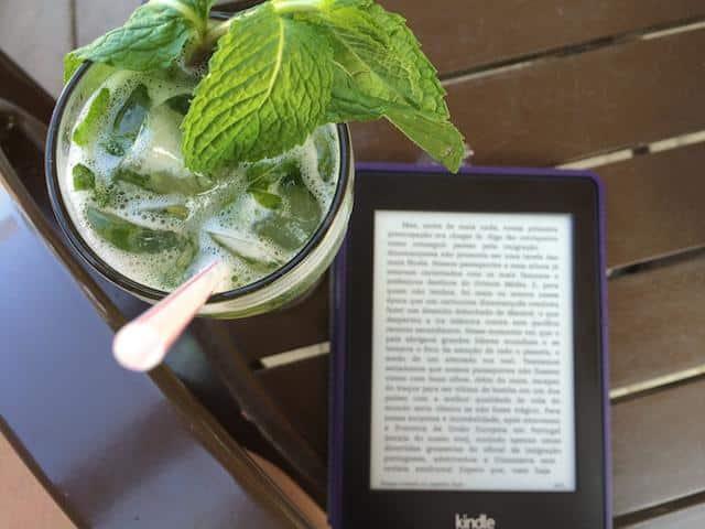 Passar tempo em aeroportos - Kindle