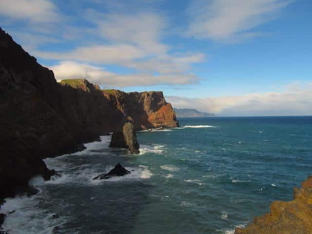 Ponta de São Lourenço Falesias Ilha da Madeira