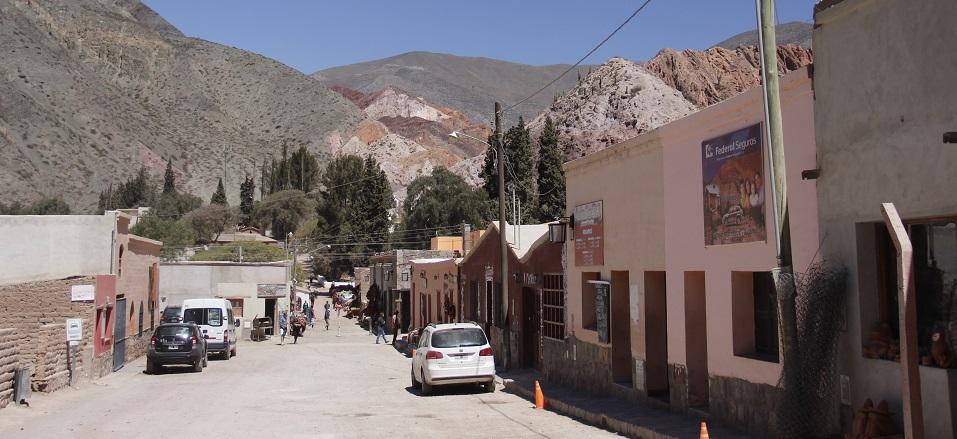 Purmamarca e o Cerro de los Siete Colores, Argentina